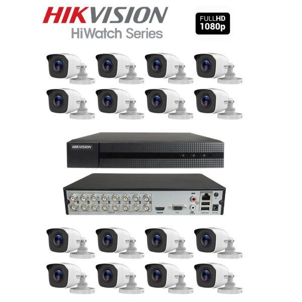 2 Megapixel Complete Full HD Set Van 16 Bullet's + 2TB