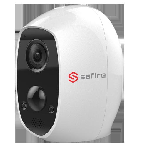 Safire IP Wifi Battery Camera, PIR detector, tot 3 maanden draadloos