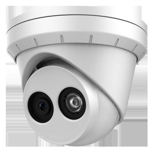 6 Megapixel IP Turret Dome Camera