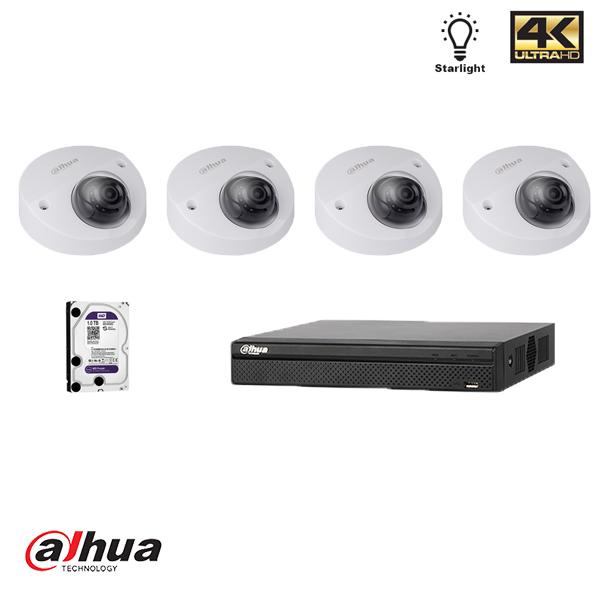 Dahua Full HD 2MP Dome Starlight kit